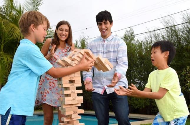 Jenga Giant Family Hardwood Game