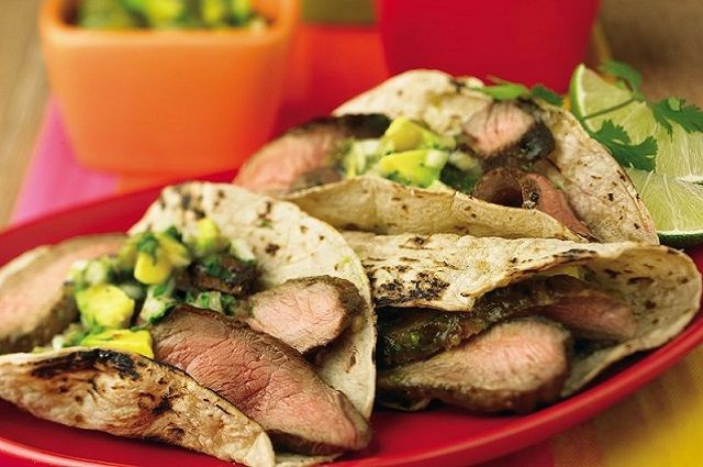 Carnitas-Style Grilled Beef Tacos