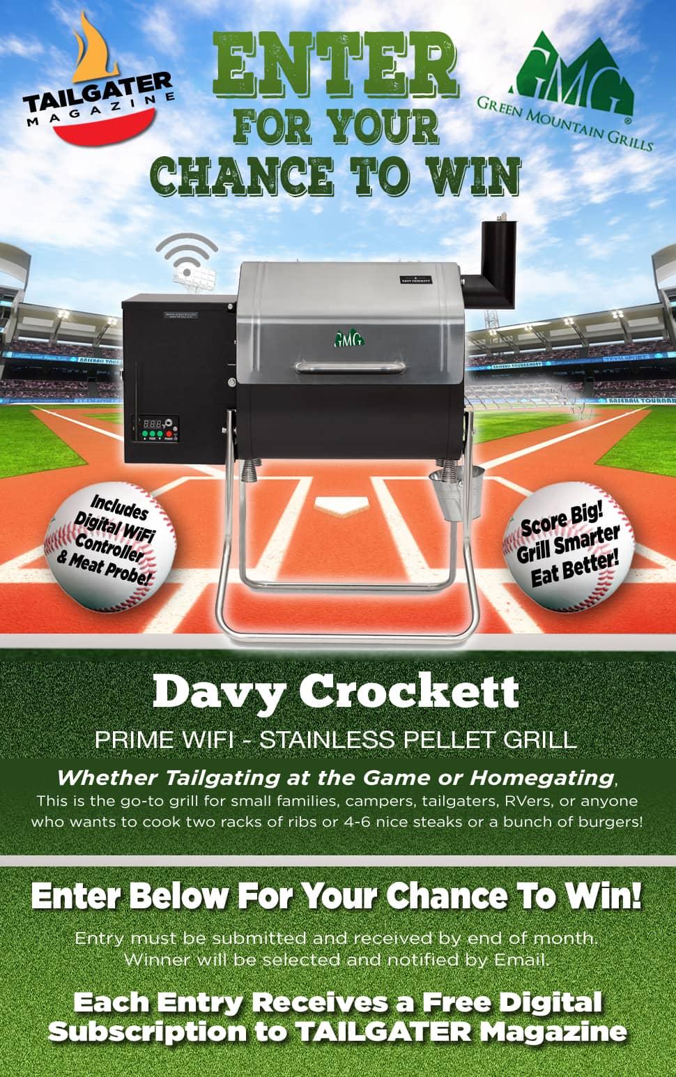 Davy Crockett Pellet Grill