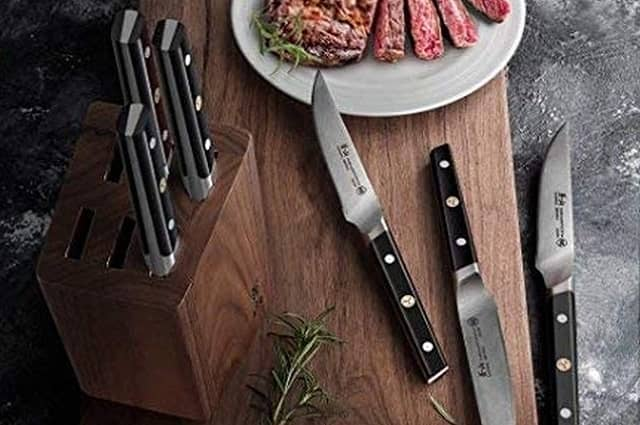 Cangshan TC Series 6-Piece Steak Knife Block Set