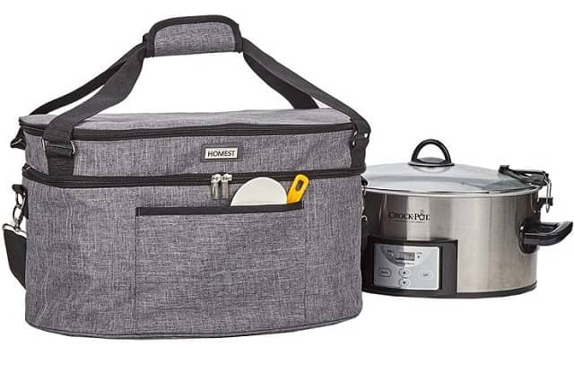 HOMEST Slow Cooker Bag for Crock-Pot 6-8 Quart
