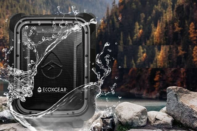 EcoBoulder+ Waterproof Bluetooth Speaker