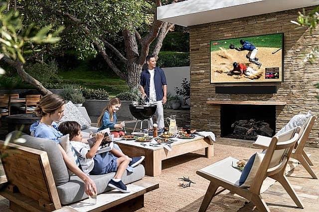Three Luxury Outdoor Televisions