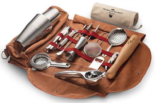 Portable Bartender Kit Bag