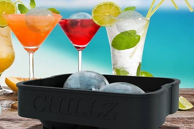 Chillz Flexible Silicone Ice Tray