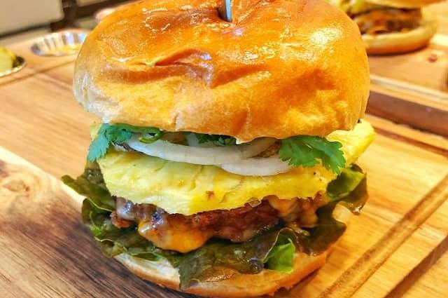 The Lava Flow Burger