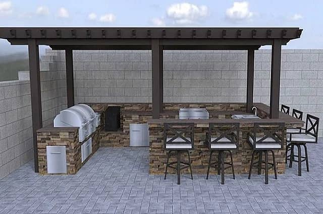 Planning Outdoor Kitchen Zones