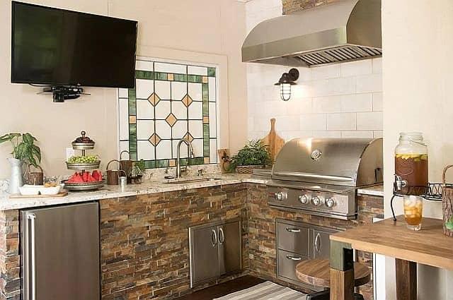Outdoor Kitchen Island Options