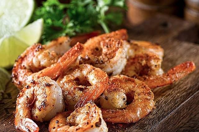 Pellet Grilled Shrimp Chipotle