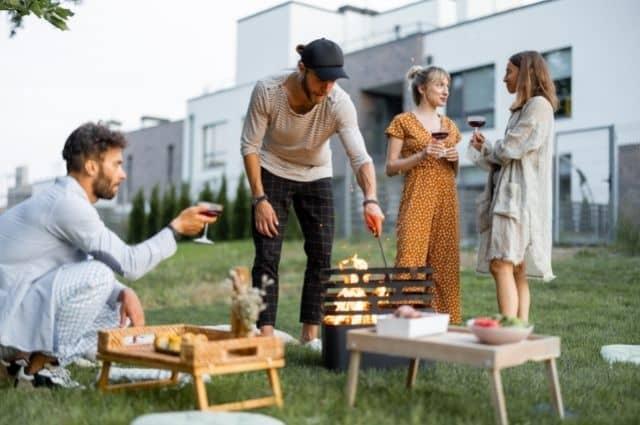 How to Host a Backyard Summer Bonfire