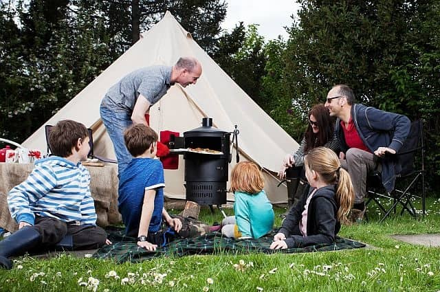 Tailgating and Camping Cooking System