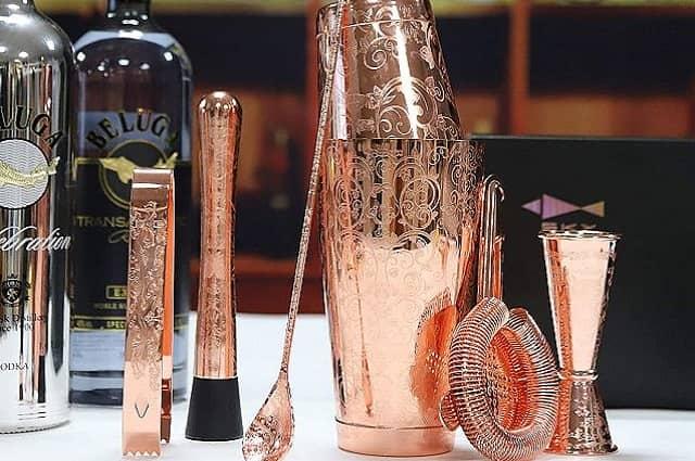 Bartender 6-Piece Cocktail Shaker Set