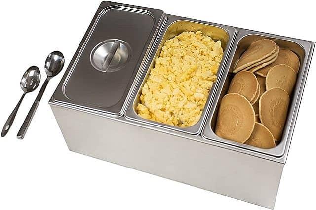 Stainless Steel Buffet Food Warmer Set