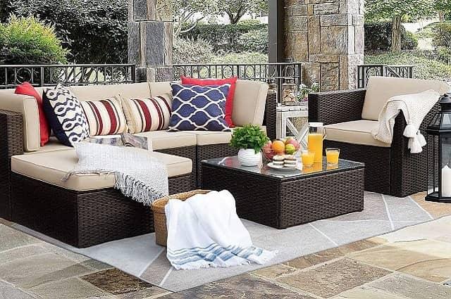 Outdoor Patio Furniture 6-Piece Set